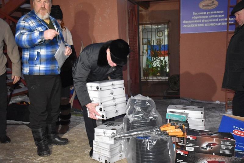 Кувайцев принял участие вотправке гуманитарной помощи вДНР
