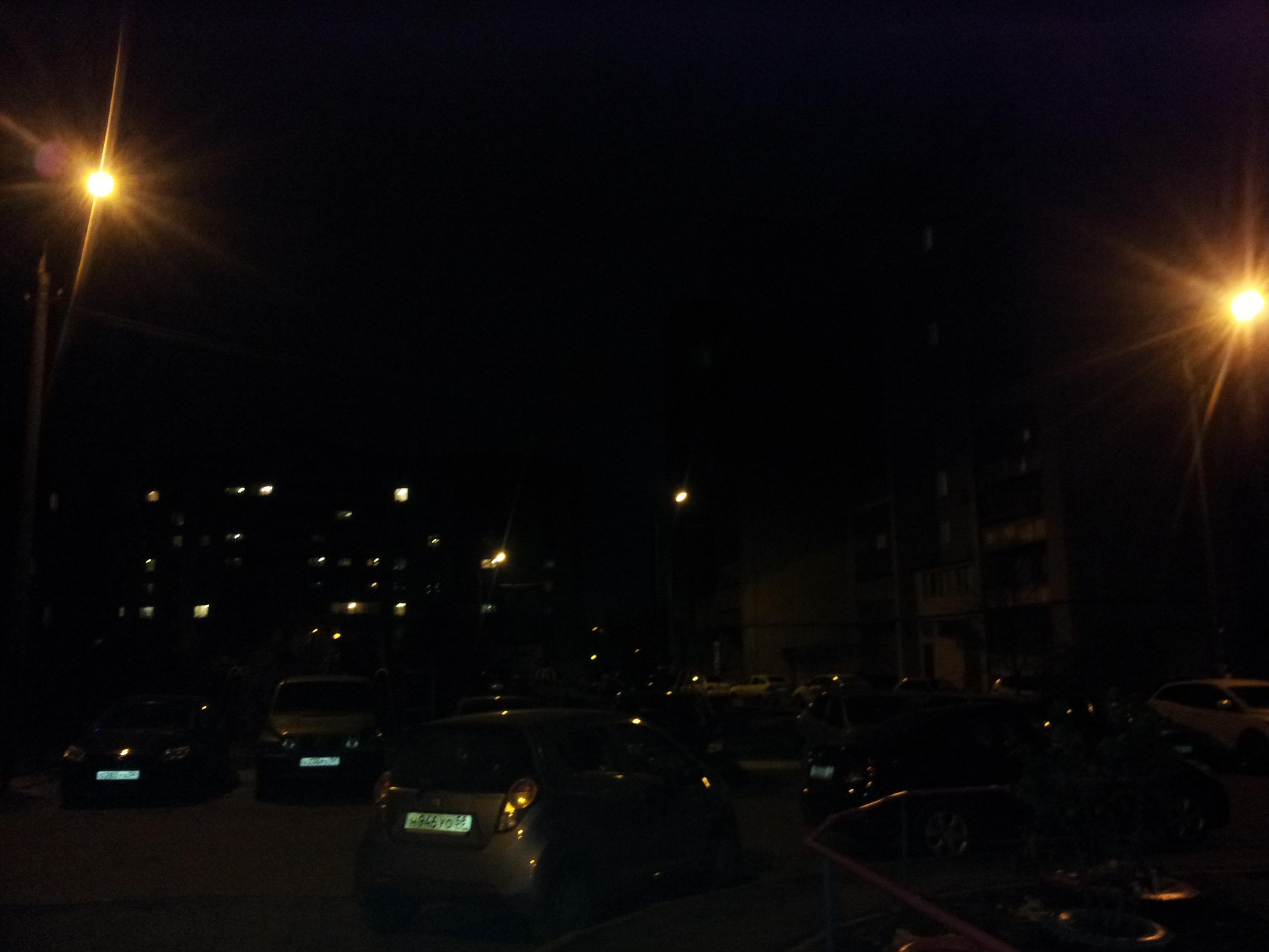 Как сделать фото в ночи