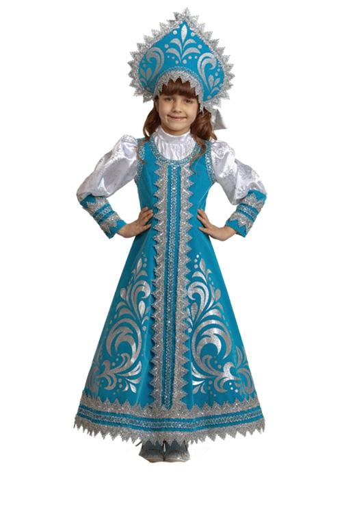 Русский сарафан для девочки своими руками 33