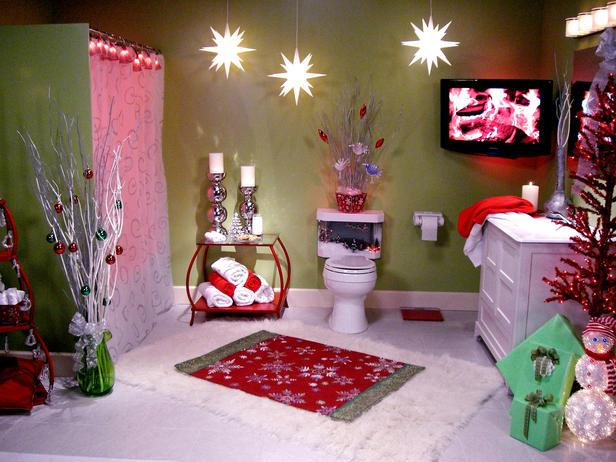 Как украсить комнату под новый год своими