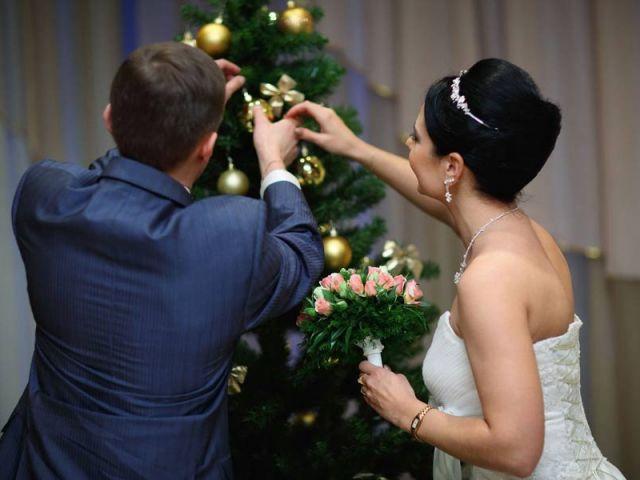 В канун Нового года в курских ЗАГСах поженятся 16 пар