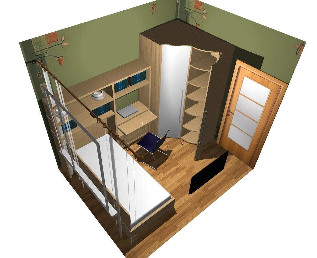 Комната 8 метров