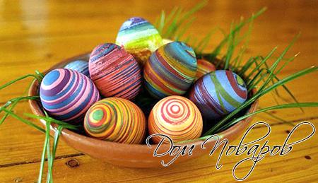 фото как разукрасить яйца на пасху