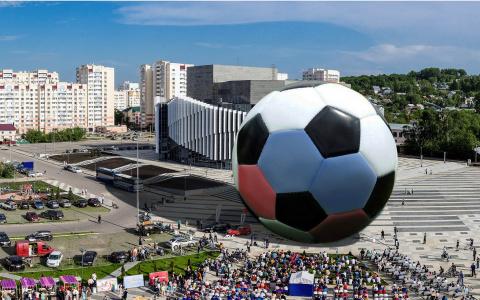 Пензенцы надуют мяч с семиэтажный дом ради строчки в Книге рекордов