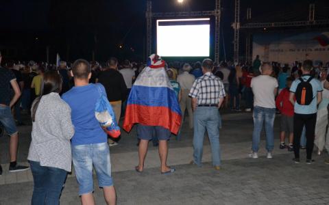 На фан-зоне на Юбилейной площади покажут все матчи сборной России на ЧМ