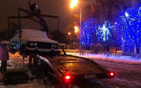 В Пензе запретят остановку и стоянку автомобилей на улице Лермонтова