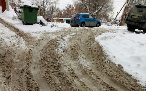Фоторепортаж «Снежная каша»: пензенцы вязнут в сугробах