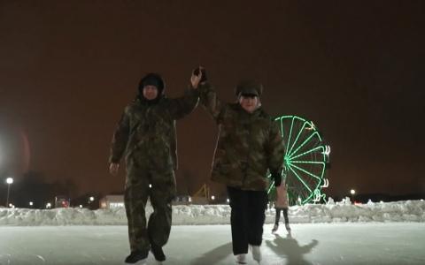 Герои телепроекта «Культ тела – 3» посетили зимний городок Спутника