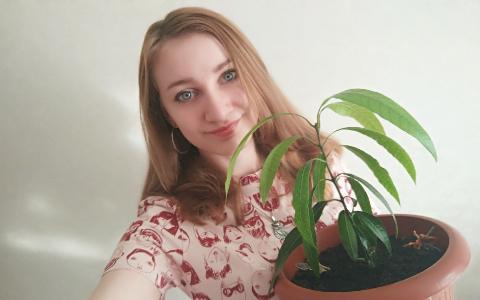 Пензячка выращивает дома экзотическое растение