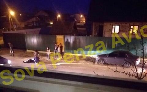 В Пензе таксист сбил велосипедиста