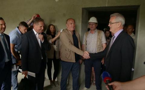 Губернатор посетил стройку «Термодома» в Пензе