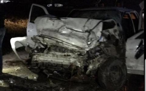 Появились фото с места аварии в Пензенской области, где погиб человек (18+)