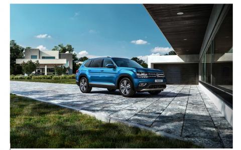 Volkswagen Teramont: больше мощности — больше драйва!