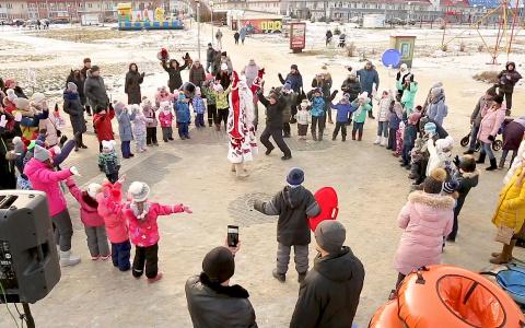 В Городе Спутнике состоялось праздничное открытие зимнего городка