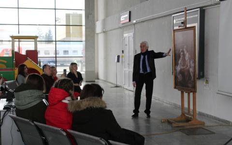 «Жую эчпочмак и окультуриваюсь»: на Пензе-1 устроили выставку