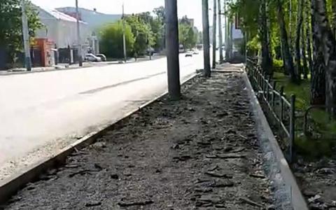 Бордюрный хаос: пензенец обратил внимание на убогое состояние тротуара