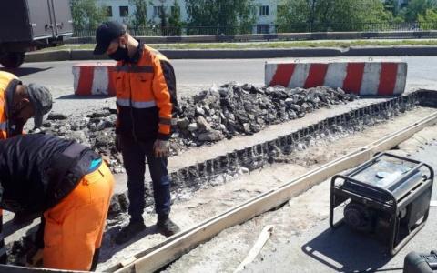 В администрации города рассказали, где проводится ремонт дорог