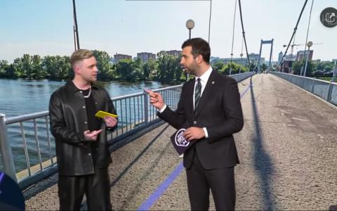 Егор Крид показал Ивану Урганту место, где его жестоко избили - видео