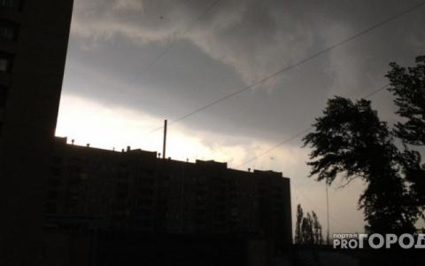 В Пензенской области ожидаются гроза и сильный ветер