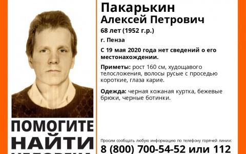 Внимание, пропал человек: в Пензе ищут Алексея Пакарькин