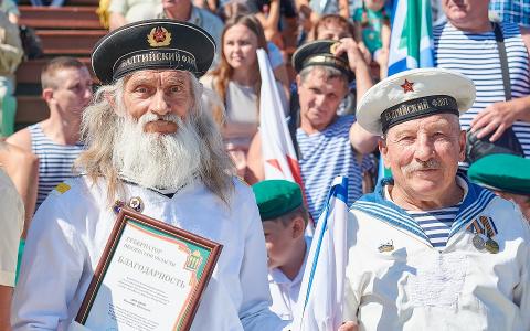 Город Спутник стал местом празднования Дня ВМФ