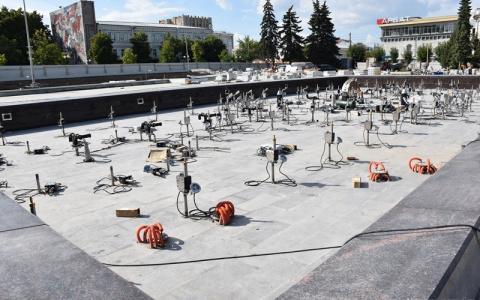 В Пензе фонтан полностью приготовили к запуску
