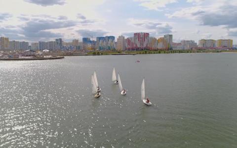 Первый в регионе чемпионат по парусному спорту прошел в Спутнике