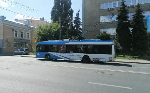 """""""Троллейбусов стало в два раза меньше"""": пензячка показала на видео проблему общественного транспорта"""