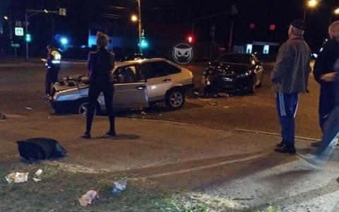 В Пензе на Окружной в ДТП пострадал водитель отечественного авто