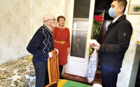 «На фронт ушел добровольцем»: пензенскому ветерану исполнилось 95 лет