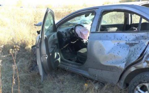 Водитель погиб на месте: в Пензенской области иномарка перевернулась в кювет