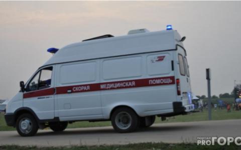 В Пензе под «умным» светофором столкнулись три автомобиля