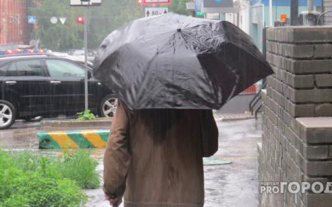 Сильный ветер и дождь: синоптики рассказали о погоде в Пензе на 8 ноября