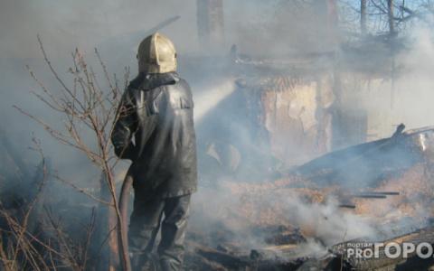 В Пензенской области во время пожара погибла семейная пара