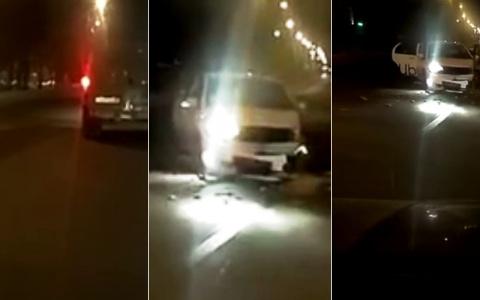 Самая нелепая авария произошла в Пензе на перекрестке – видео