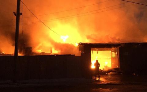 В сгоревшем в Пензе гараже нашли тело мужчины