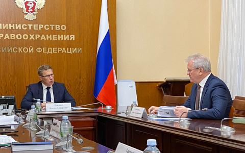 Вся правда о ковиде: губернатор Иван Белозерцев отчитался перед министром Мурашко