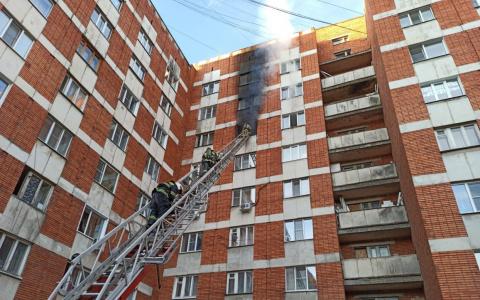 В Пензе при пожаре погиб мужчина