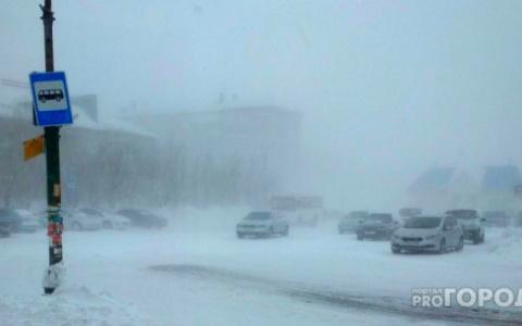 «Снегопад и ветер»: метеорологи сообщили о мощной метели в регионе