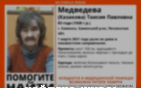 В Пензенской области завершены поиски 83-летней пенсионерки