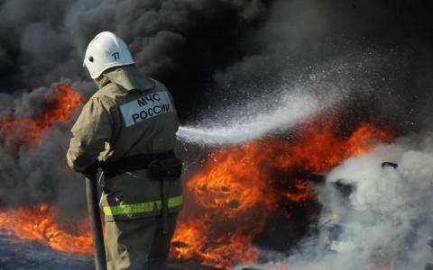 В Кузнецке произошёл смертельный пожар