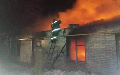 В Нижнеломовском районе из-за пожара погиб мужчина