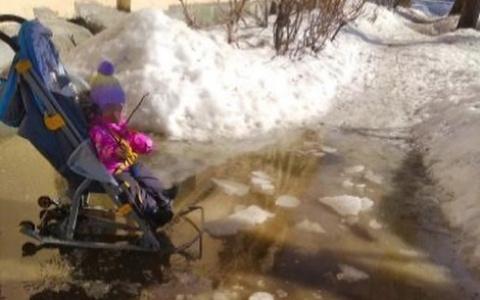 """""""Потоп"""" в Пензе: жители обеспокоены сложившейся ситуацией"""