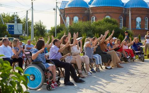 """Четыре года без ограничений: пансион для людей с инвалидностью """"Дом Вероники"""" отметил четырехлетие"""