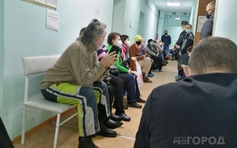 Кузнечанка пожаловалась на огромные очереди в больницы