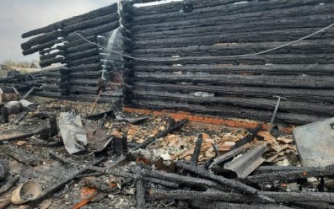 В Пензенской области при пожаре погибли три человека