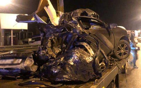 Появились кадры с места жуткой аварии под Пензой