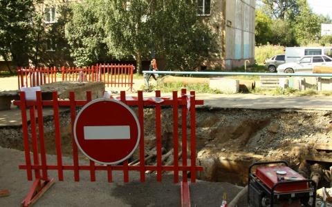 На проспекте Победы в Пензе началась реконструкция тепломагистрали