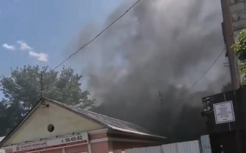 В Пензе на улице Володарского произошел пожар - подробности