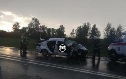В страшной аварии под Пензой погибли три человека, среди них ребенок